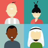 Concept of religion characters. Stock Images
