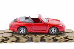Concept : the repair of automobiles Stock Photo