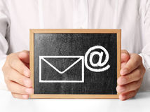 Concept representing email Royalty Free Stock Photo