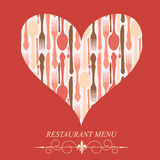 The concept of Restaurant menu Royalty Free Stock Photo