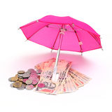 Concept of retirement savings fund Royalty Free Stock Photos