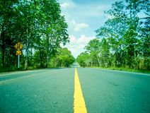 Concept road to success royalty free stock photography