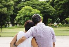 Concept Romance d'épouse de mari de famille d'amour de couples Photo libre de droits
