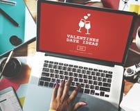 Concept Romance de pain grillé de datation d'amour d'idées de date de valentines Images stock