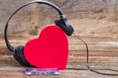Concept romantique de musique Photos libres de droits