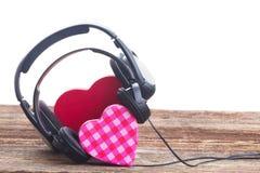 Concept romantique de musique Photo libre de droits