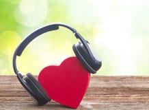 Concept romantique de musique Photo stock