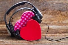 Concept romantique de musique Images stock