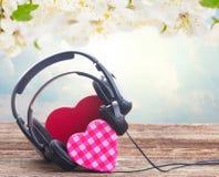 Concept romantique de musique Images libres de droits