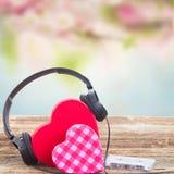 Concept romantique de musique Image libre de droits