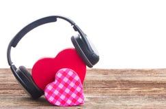 Concept romantique de musique Image stock