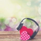 Concept romantique de musique Photos stock