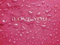 Concept rose d'amour Photos libres de droits