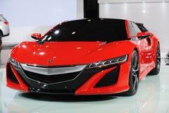 Concept rouge d'Acura NSX image libre de droits
