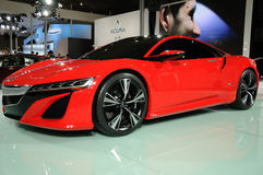 Concept rouge d'Acura NSX image stock