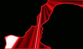 Concept rouge d'amour image libre de droits