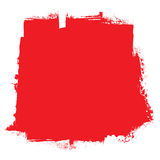 Concept rouge de sang de rouleau Photos libres de droits