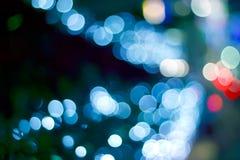 Concept rougeoyant léger abstrait de décoration, de doux et de tache floue Photos libres de droits