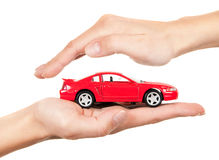 Concept of safe driving Stock Images