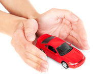 Concept of safe driving Royalty Free Stock Photo