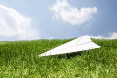 Concept of safe landing Stock Images