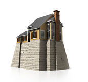 Concept safety house Royalty Free Stock Image
