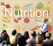 Concept sain de la vie de régime alimentaire de nutrition Photographie stock libre de droits