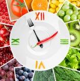 Concept sain de nourriture Image stock