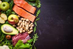 Concept sain de nourriture Photographie stock