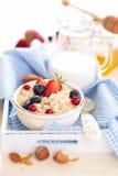 concept sain de petit déjeuner photo stock