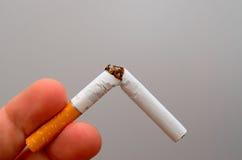 Concept sain de style de vie Quittez l'image contre le tabac rendue par Smoking Image libre de droits