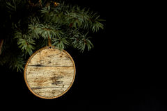 Concept for sale on wooden background. Royalty Free Stock Images