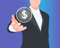 Concept of sales. Illustration of a concept of sales Royalty Free Stock Images