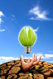 Concept of saving energy Royalty Free Stock Image