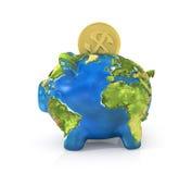 Concept of saving enviroment nature. stock illustration