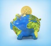 Concept of saving enviroment nature. Stock Photos