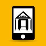 Concept saving money bank building Stock Photo
