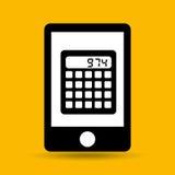 Concept saving money calculator. Vector illustration eps 10 Stock Photo
