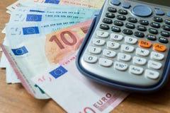 Concept of savings analysis Royalty Free Stock Image