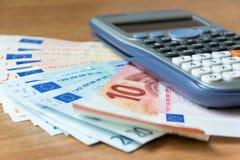 Concept of savings analysis Stock Photos