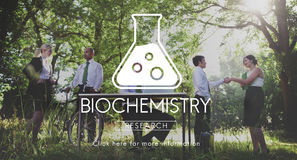 Concept scientifique d'ingénierie de la génétique de biochimie photos stock