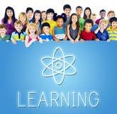Concept scolaire d'école de classe de la connaissance photo libre de droits