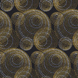 Concept seamless luxury pattern with dots Royalty Free Stock Photo