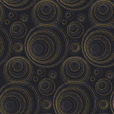 Concept seamless luxury pattern with dots Stock Photo