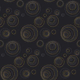 Concept seamless luxury pattern with dots Stock Photography