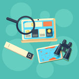Concept for search engine optimization Royalty Free Stock Photography