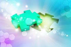 Concept searching a solution Royalty Free Stock Photo