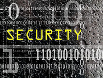 Concept of security Royalty Free Stock Photos