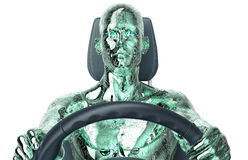 Concept of self-driving car Stock Photo