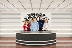 Concept SEO Stock Foto's